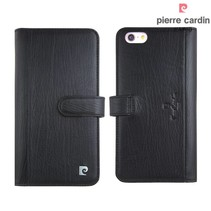 Pierre Cardin Booktype voor Apple iPhone 6 Plus  - Zwart (8719273215449)