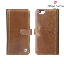 Pierre Cardin Booktype voor Apple iPhone 6 Plus  - Bruin (8719273215456)