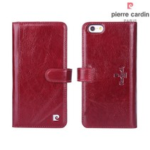 Pierre Cardin Booktype voor Apple iPhone 6 Plus  - Rood (8719273215463)