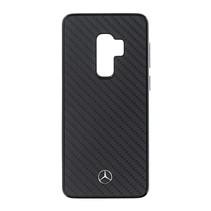 Mercedes-Benz Achterkant voor Samsung Galaxy S9 Plus  -  Zwart (3700740427019)