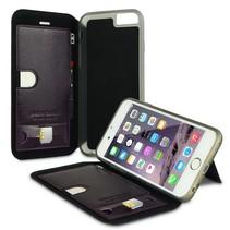 Pierre Cardin Booktype voor Apple iPhone 6  - Zwart (8719273215050)