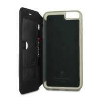 Pierre Cardin Booktype voor Apple iPhone 6  - Zwart (8719273215081)