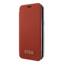 Guess Booktype voor Samsung Galaxy S8 Plus  - Rood (3700740400371)