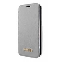 Guess Booktype voor Samsung Galaxy S8 Plus  - Zilver (3700740400258)