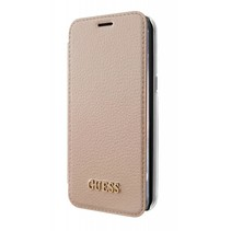 Guess Booktype voor Samsung Galaxy S8 Plus  - RoseGold (3700740400296)