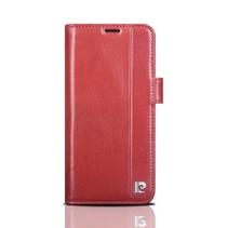 Pierre Cardin Booktype voor Samsung Galaxy S9  - Rood (8719273145944)