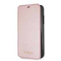 Guess Booktype voor Apple iPhone XR  - RoseGold (3700740437575)