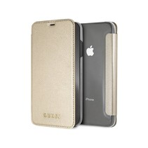 Guess Booktype voor Apple iPhone Xs Max  - Goud (3700740437544)