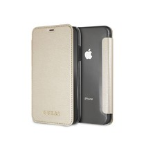 Guess Booktype voor Apple iPhone XR  - Goud (3700740437537)