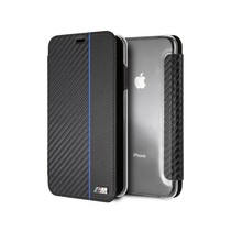 BMW Booktype voor Apple iPhone Xs Max  - Navy (3700740435168)