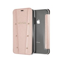 Guess Booktype voor Apple iPhone Xs Max  - RoseGold (3700740437100)