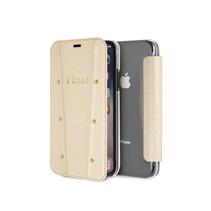 Guess Booktype voor Apple iPhone X-Xs  - Goud (3700740437001)