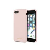 Guess Achterkant voor Apple iPhone 7-8 -  Roze (3700740434307)