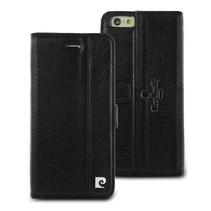 Pierre Cardin Booktype voor Apple iPhone 6  - Zwart (8719273215234)