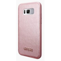 Guess Achterkant voor Samsung Galaxy S8  -  Rose Gold (3700740400265)