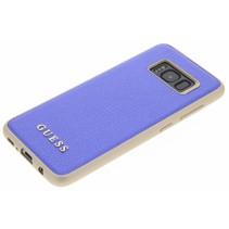 Guess Achterkant voor Samsung Galaxy S8  -  Blauw (3700740400388)