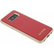 Guess Achterkant voor Samsung Galaxy S8  -  Rood (3700740400340)