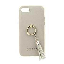 Guess Achterkant voor Apple iPhone 7-8 -  Beige (3700740420751)