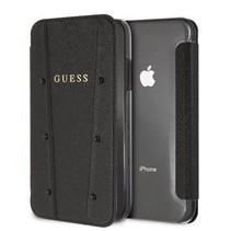 Guess Booktype voor Apple iPhone XR  - Zwart (3700740437162)