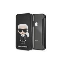 Karl Lagerfeld Booktype voor Apple iPhone XR  - Zwart (3700740439135)