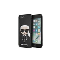 Achterkant voor Apple iPhone 7-8Plus  -  Zwart (3700740435724)