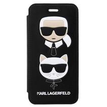 Karl Lagerfeld Booktype voor Apple iPhone 7-8  - Zwart (3700740419076)