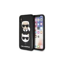 Achterkant voor Apple iPhone X-Xs  -  Zwart (3700740410905)