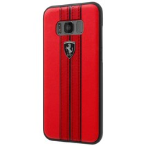 Ferrari Achterkant voor Samsung Galaxy S8  -  Rood (3700740399927)
