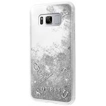 Guess Achterkant voor Samsung Galaxy S Serie  -  Zilver (3700740400548)