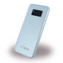 Guess Achterkant voor Samsung Galaxy S Serie  -  Zilver (3700740400227)