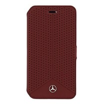 Mercedes-Benz boekmodel voor Samsung Galaxy S6 - Rood (3700740364802)