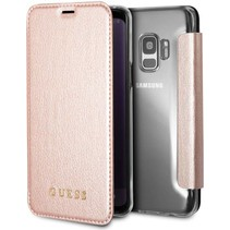 Guess Booktype voor Samsung Galaxy S9  - RoseGold (3700740426883)