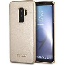 Guess Achterkant voor Samsung Galaxy S9 Plus  -  Goud (3700740426838)