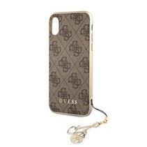 Guess Achterkant voor Apple iPhone XR  -  Bruin (3700740437193)