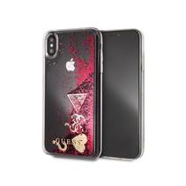 Guess Achterkant voor Apple iPhone Xs Max  -  Roze (3700740437834)