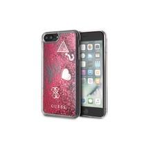 Guess Achterkant voor Apple iPhone 7-8Plus  -  Raspberry (3700740437803)
