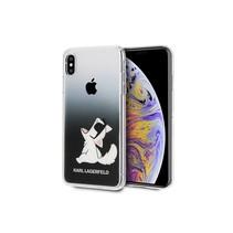 Achterkant voor Apple iPhone Xs Max  -  Zwart (3700740440308)