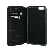 Pierre Cardin Booktype voor Apple iPhone 6  - Zwart (8719273215593)