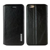 Pierre Cardin Booktype voor Apple iPhone 6  - Zwart (8719273215647)