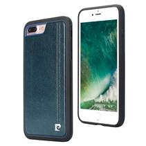 Pierre Cardin Achterkant voor Apple iPhone 7-8 -  Sapphire Blauw (8719273129579)
