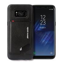 Pierre Cardin Achterkant voor Samsung Galaxy S8  -  Zwart (8719273131275)