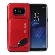 Pierre Cardin Achterkant voor Samsung Galaxy S8  -  Rood (8719273131299)