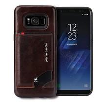 Pierre Cardin Achterkant voor Samsung Galaxy S8  -  D Bruin (8719273131305)