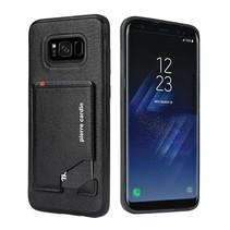 Pierre Cardin Achterkant voor Samsung Galaxy S8 Plus  -  Zwart (8719273131312)