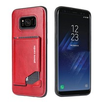 Pierre Cardin Achterkant voor Samsung Galaxy S8 Plus  -  Rood (8719273131336)
