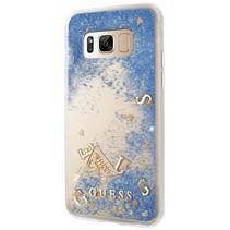 Guess Achterkant voor Samsung Galaxy S8  -  Blauw (3700740400487)