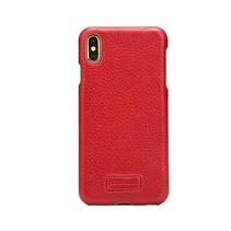 Pierre Cardin Achterkant voor Apple iPhone Xs Max  -  Rood (8719273277980)