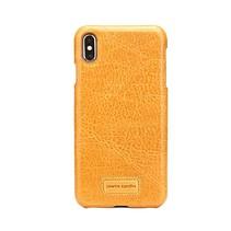 Pierre Cardin Achterkant voor Apple iPhone Xs Max  -  Geel (8719273277997)