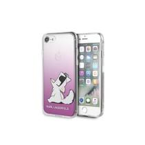 Achterkant voor Apple iPhone 7-8 -  Roze (3700740436011)