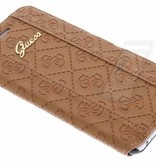 Guess Guess Booktype voor Apple iPhone 6 Plus  - Bruin (3700740349922)